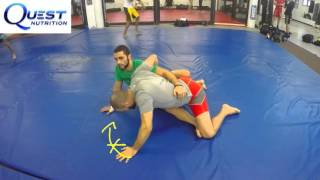 BJJ Technique - Escaping the Guillotine and Transitioning to Triangle from Half Guard - Firas Zahabi