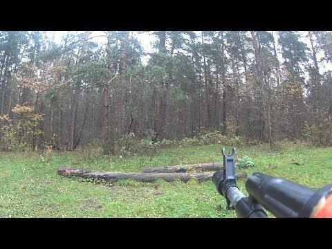 Американский террорист напоролся на русского охотника | Серёжа Штык #4 vs Рэмбо | Охота на зайца