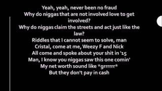 Nicki Minaj Drake Lil Wayne No Frauds Lyrics