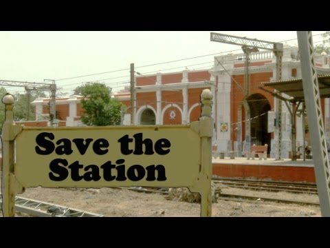 The country's oldest surviving railway station may soon be demolished SAVE THE STATION [ RED PIX }