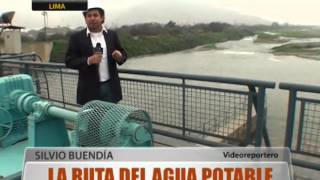 La ruta del agua potable