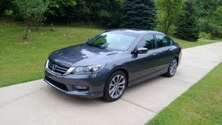 Download 2013 Honda Accord Sport Review 3Gp Mp4