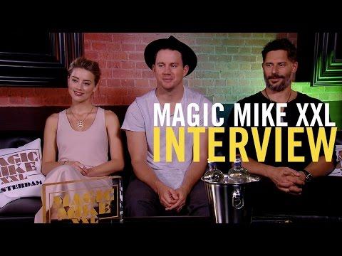 Magic Mike XXL - Interview with Channing Tatum, Joe Manganiello, Amber Heard and more - Pathé