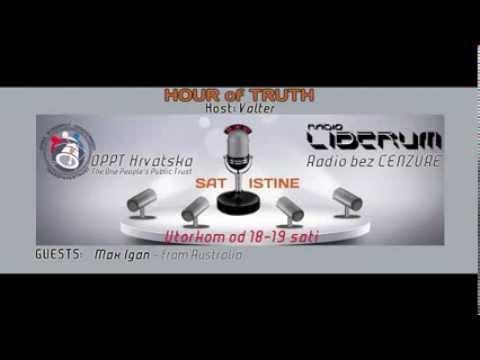 HOUR of TRUTH 9 - OPPT Croatia & Radio Liberum 20.08.2013.