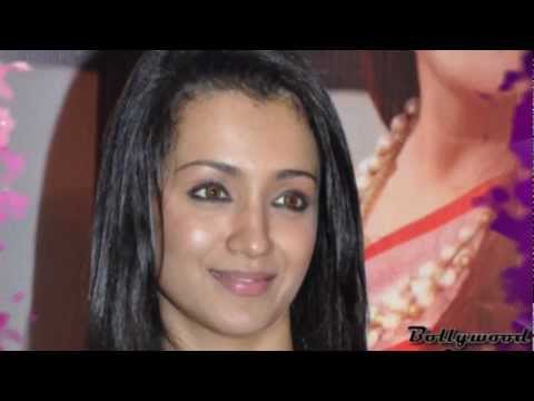 Tamil Actress Trisha Krishnan in Shot Pink Dress