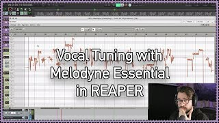 Vocal Tuning with Melodyne Essential in REAPER (ARA2)