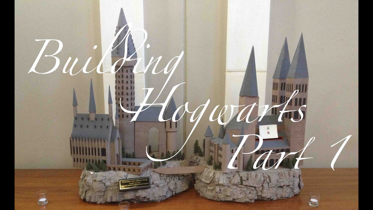 Building Hogwarts Part 1 Establishing A Cliff Face Youtube