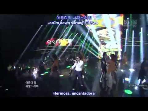 Park Jae Sang PSY El baile del caballo Live en español