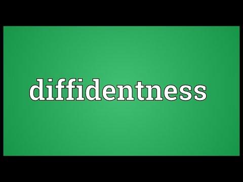 Header of diffidentness