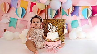 ALAÏA'S OFFICIAL BIRTHDAY PHOTOSHOOT!!! **ADORABLE**