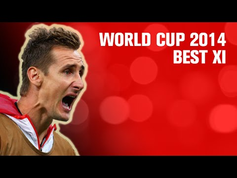 FIFA World Cup 2014 Best XI // World Cup Wee Bit 6