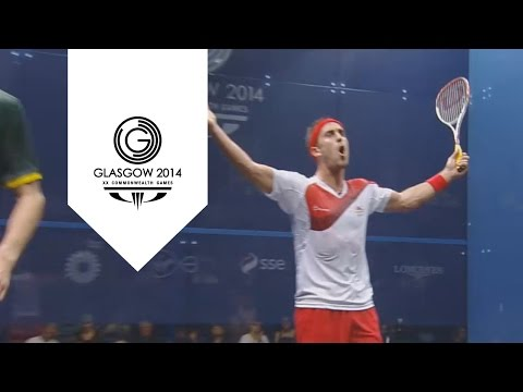 Squash umpire's brilliant response to Peter Barker | Unmissable Moments