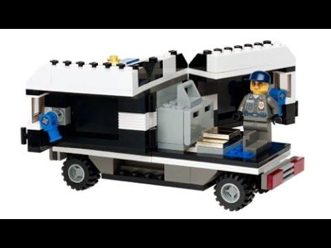 Lego city camion blindado de policia lego juguetes infantiles youtube - Lego camion de police ...