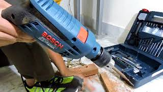 Bosch GSB 600 RE Review & Usage - by Rajdeep Biswas