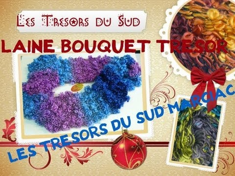 comment tricoter la laine bouquet