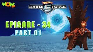 Motu Patlu presents Hot Wheels Battle Force 5 - Found and Lost - S2 E34.P1 - in Hindi