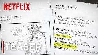 Sharkey The Bounty Hunter | Teaser [HD] | Netflix