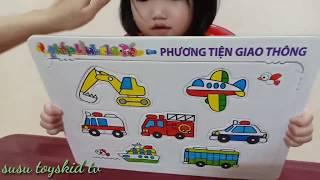 Trò Chơi Ghép Hình Thông Minh Cho Bé  trò chơi trẻ em  susu toyskid tv