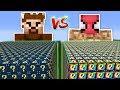 FAKİR VS ŞANS BLOKLARI CHALLENGE - Minecraft