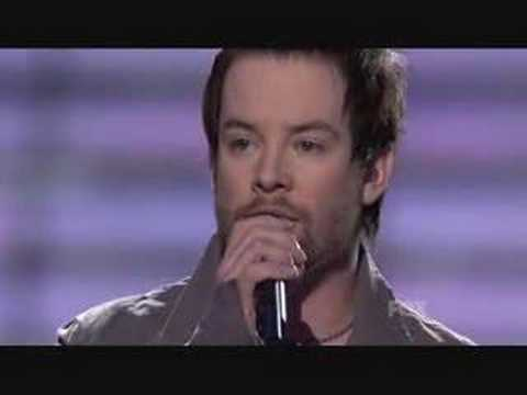 David Cook - I Still Havent Found What Im Looking For