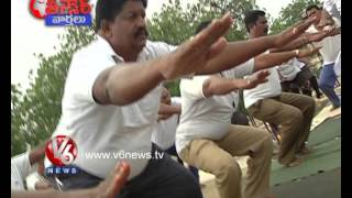 Teenmaar News  Funny Counters On Police Heavy Weight || V6 News