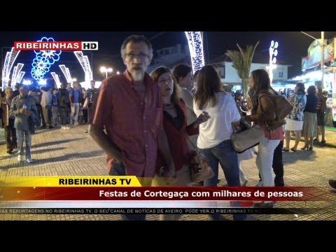 Festas de Cortega�a com milhares de pessoas nas ruas