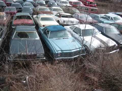 Demolition Derby Car Graveyard