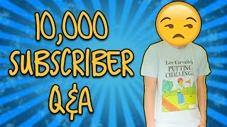 10,000 Subscriber Q&A Video (Face Reveal, Favourite Bands, Practise Routines)