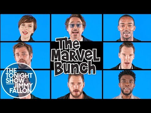 Avengers: Infinity War Cast Sings The Marvel Bunch