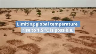 The Impacts of Global Warming of 1.5 °C - IPCC Special Report