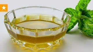 Мятный сироп от Мармеладной Лисицы. Очень простой рецепт