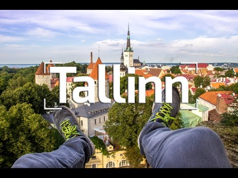TALLINN, ESTONIA - OLD TOWN ROOFTOP ADVENTURE