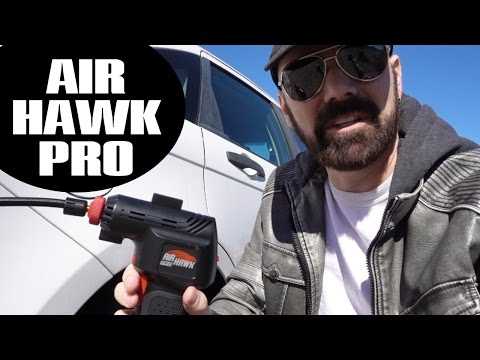 Air Hawk Pro Review: 1st Look and Tire Inflation Test