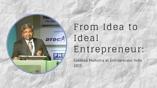 From Idea to Ideal Entrepreneur   G