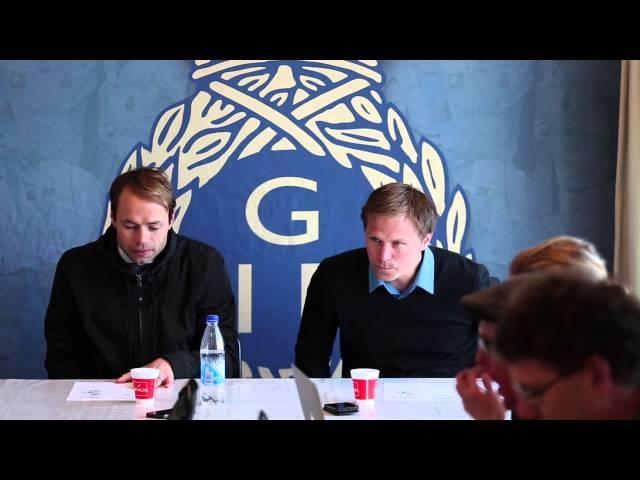 Presskonferens Gefle IF vs AIK
