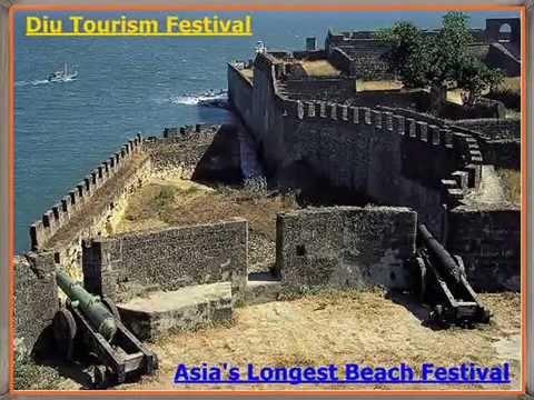 Asia's Longest Beach Festival (Festa Da Diu) a 75-day Diu Tourism Festival 2015