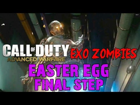 Advanced Warfare EXO ZOMBIES▐ Easter Egg FINAL STEP: GAME OVER, MAN!