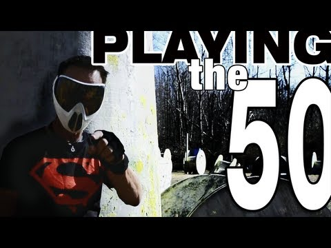 How To Play Paintball:Playing the 50 Yard Line