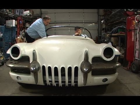 The 1955 LaSalle Roadster moves under it's own power for the first time in it's history with it's owner, Joe Bortz at the wheel. This took place on the 18th ...