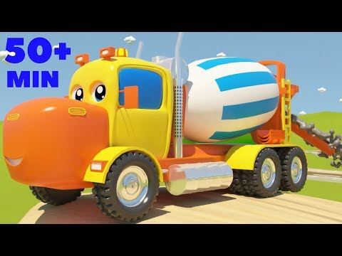 Mighty Machines Construction Song Part 3   Plus Other Top Nursery Rhymes Compilation