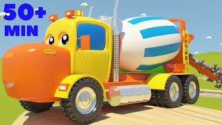 Mighty Machines Construction Song Part 3 | Plus Other Top Nursery Rhymes Compilation