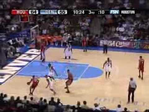 ROCKETS vs NUGGETS 03/02/07