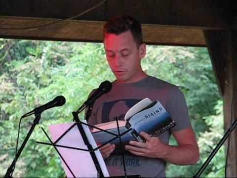 Silas House reads from the introduction to Something's Rising