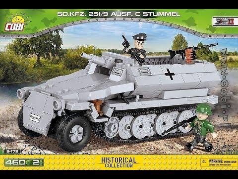 COBI Sd.Kfz.251/9 Ausf.C Stummel REVIEW
