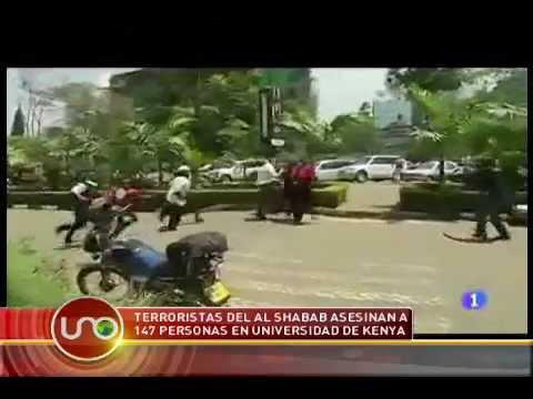 Terroristas del Al Shabab asesinan a 147 personas en universidad de Kenya