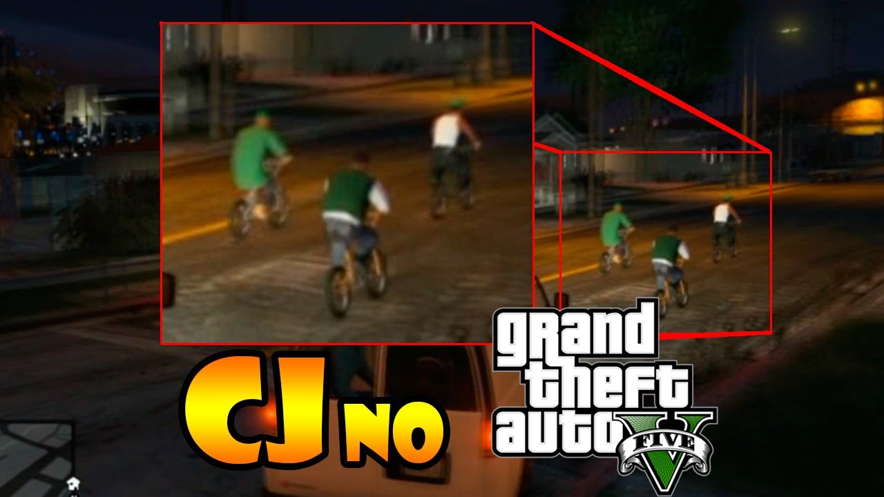 Gta 5 cj Easter Egg Gta v Easter Egg cj no Gta