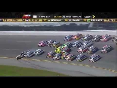 Nascar Crashes 2012 Nascar Talladega Crash(25 Car