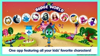 Kids Games, Creativity, and Learning - Budge World - Most Popular Kids Characters!