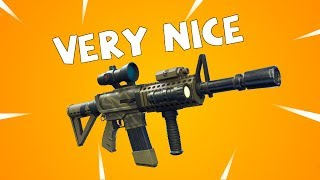 NEW Legendary Tiger AR Review & Gameplay   Fortnite