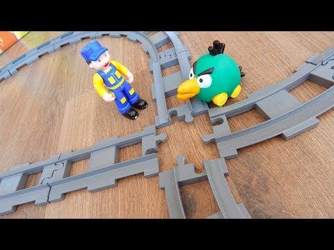 Машинки игрушки Лего Поезда мультики Город машинок 271: Перекресток. Мультики для детей про Машинки